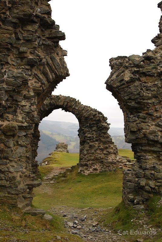Galles, Dinas Bran, castello