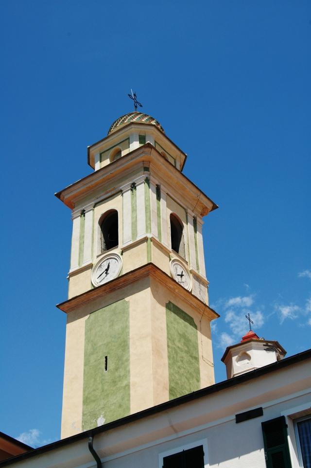 Santo Stefano al Mare, Santo Stefano protomartire, il campanile