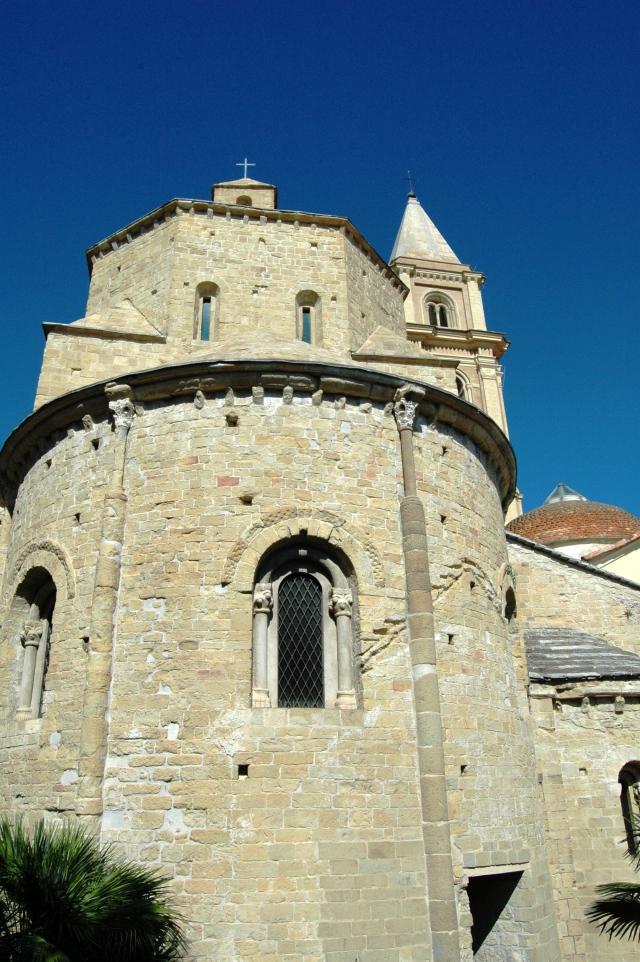 Nel centro storico di Ventimiglia Alta